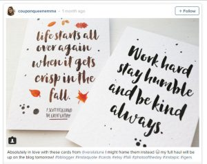 Coupon Queen Emma Mumford Reviews Our Cards